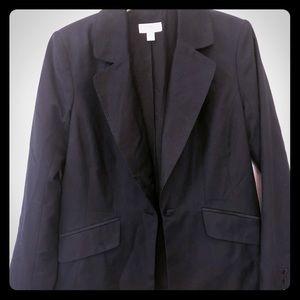 Isaac Mizrahi black blazer